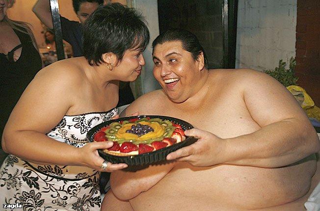 Секс с жирн женщина