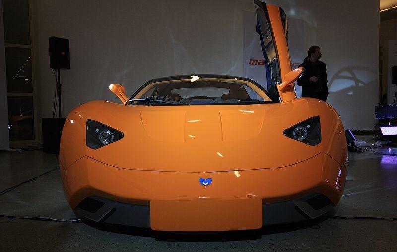 Гибрид Lamborghini Reventon и Pagani Zon…