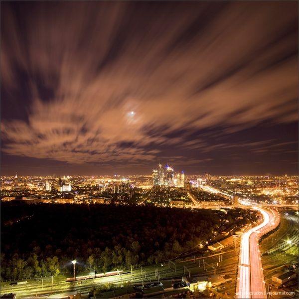 Ночная Москва (79 фото)