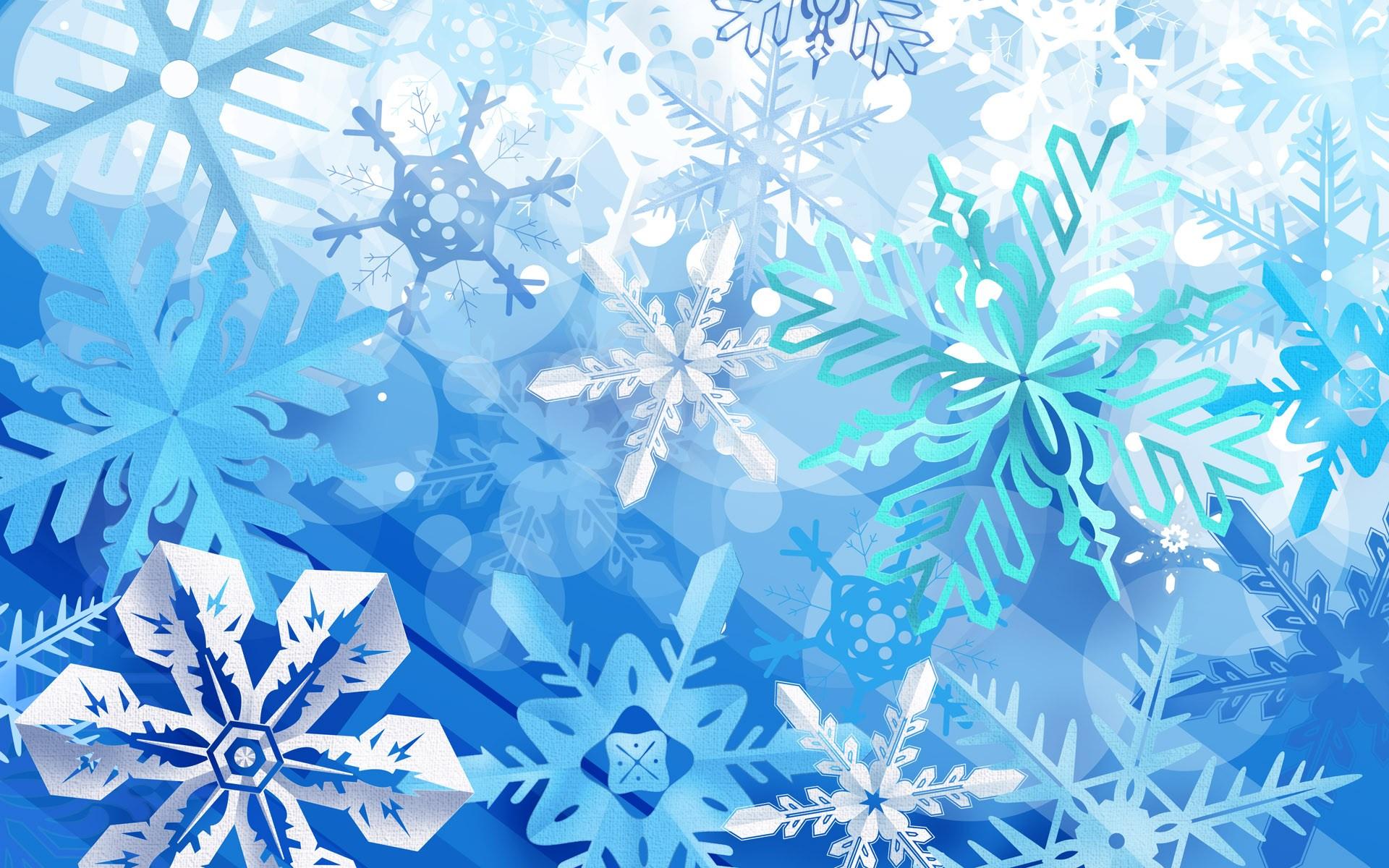 Новогодние открытки со снежинками картинки