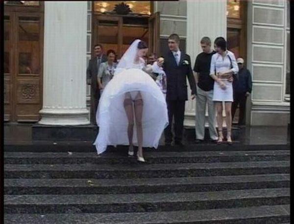 Прикольные свадебные фотографии (100 фото)