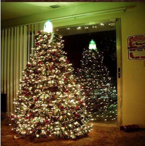 Делаем своими руками елку на Новый Год (9 фото)