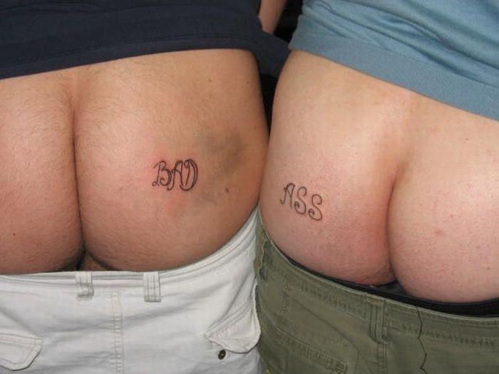 Татушки на задницах (41 фото)