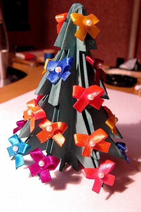 Новогодняя елка своими руками (22 фото)