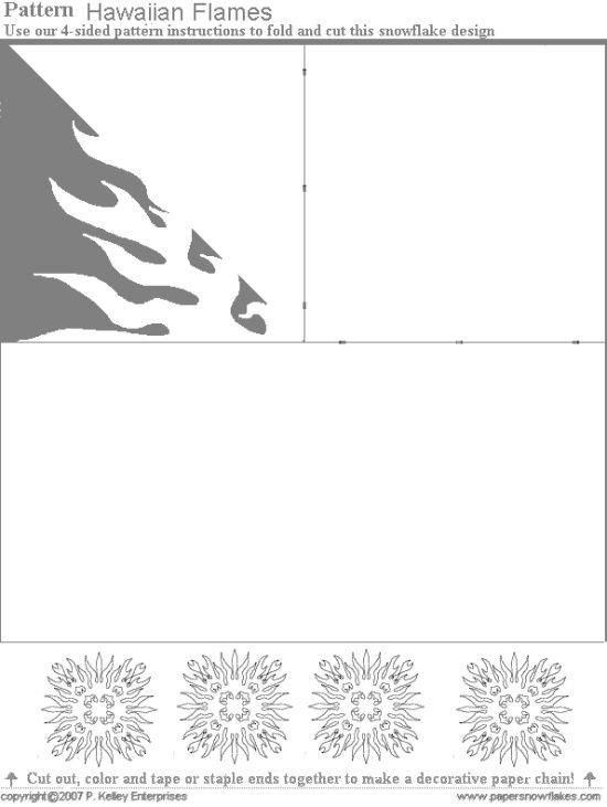 Новогодняя снежинка своими руками (60 фото)