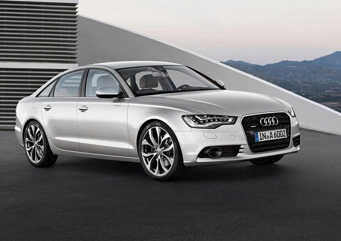В гамме Audi A6 нового поколения появится гибрид (30 фото)