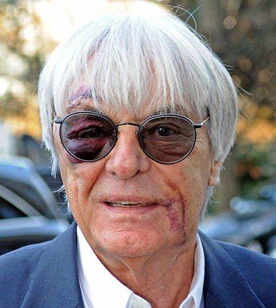 В Лондоне избили президента Формулы-1 (2 фото)