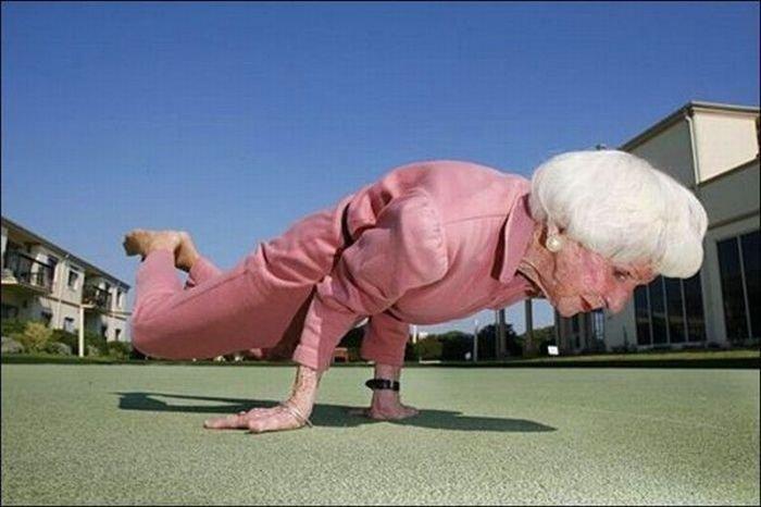 Лысые старые бабульки