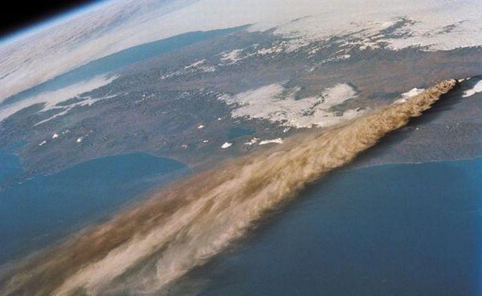 Вулкан Ключевской - Россия (сентябрь 1994)