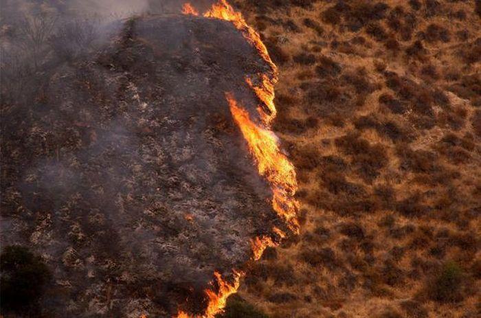 Пожары - Сильмар, штат Калифорния (сентябрь 2009)