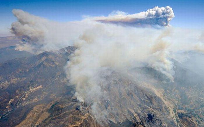 Пожары - Калифорния (сентябрь 2009)