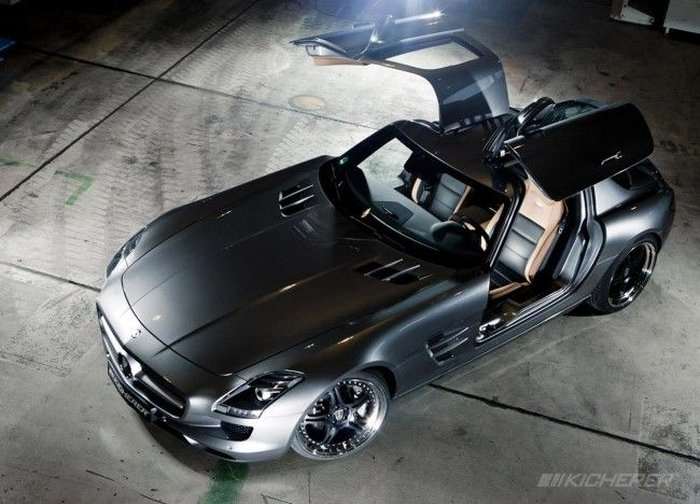 Kicherer SLS 63 Supersport на базе Mercedes SLS (6 фото)