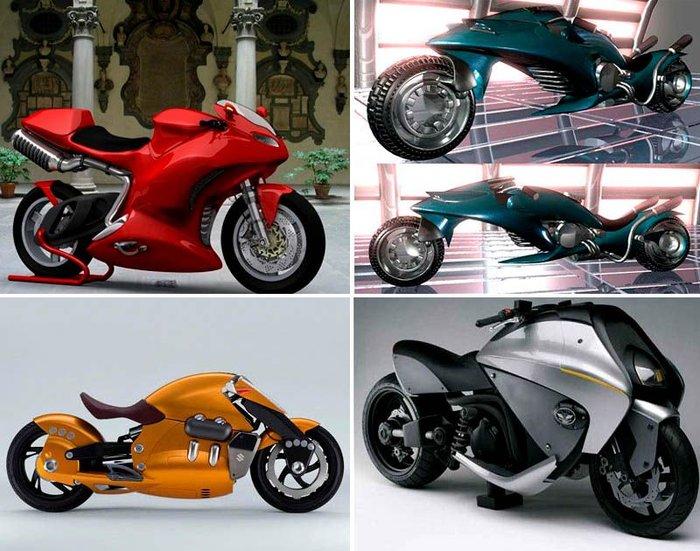 Необычные мотоциклы (31 фото)