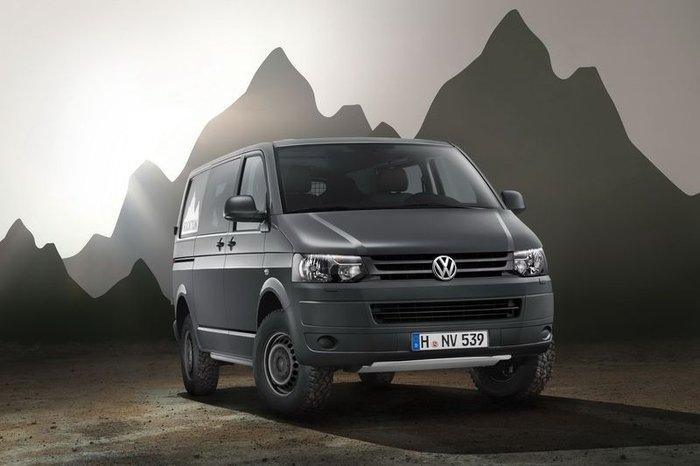 VW Transporter Rockton преодолевает бездорожье (9 фото+текст)