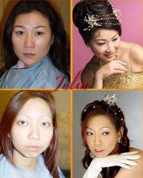 Макияж фото до и после, преображение девушек - Mylitta ru