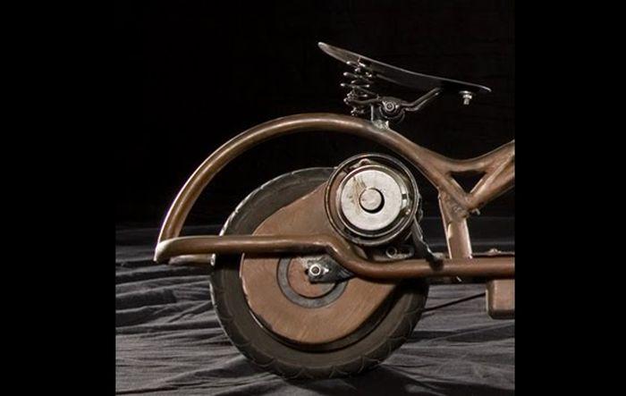 Футуристические велосипеды с мотором от Джоша Хадара (25 фото+3 видео)