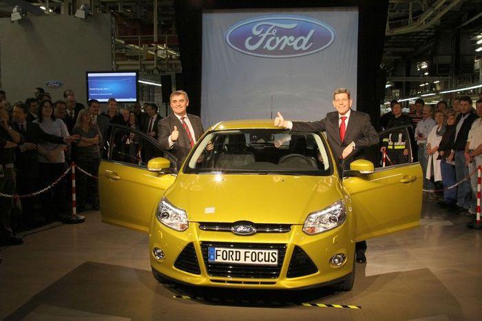 Началась сборка нового Ford Focus 3 (12 фото)