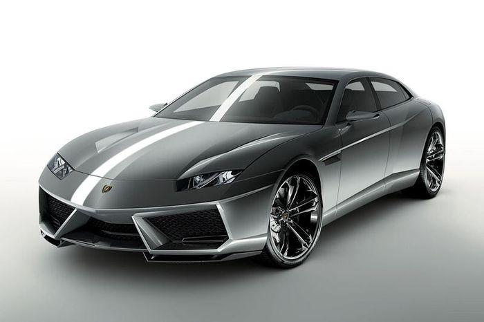 Lamborghini Estoque новый концепт седана (16 фото)
