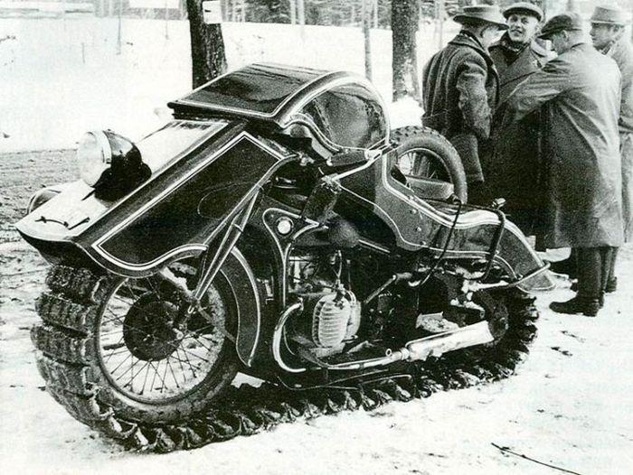 Подборочка непростых мотоциклов (18 фото)