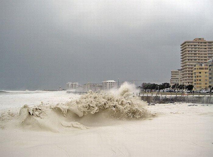 Очень редкий природный феномен в Кейптауне (28 фото + видео)