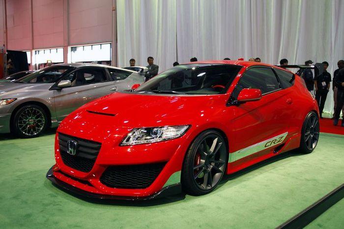 Компания Honda готовит турбомотор для модели CR-Z (14 фото)