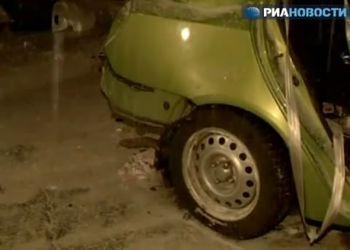 В аварии все пассажиры китайского авто погибли...