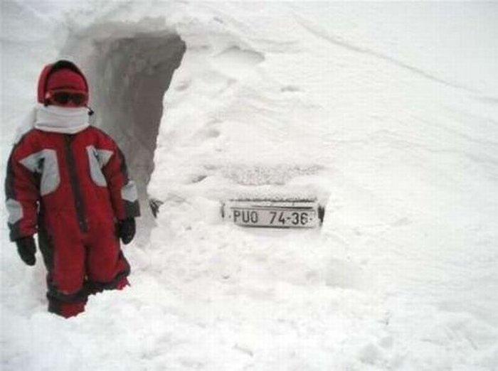 Зима подкралась незаметно (6 фото)