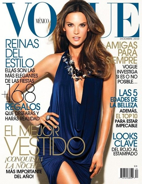Alessandra Ambrosio In Vogue Mexico 2010 (8 фото)