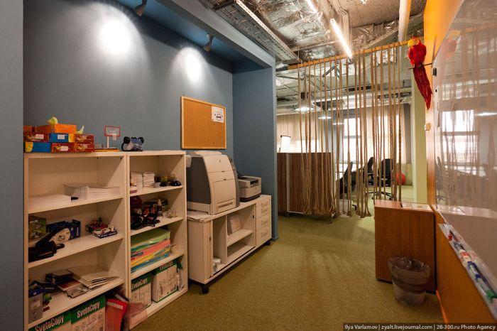 Сказочный офис Google в Москве (49 фото + текст)