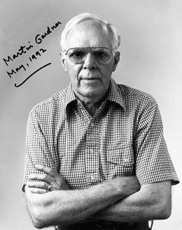 22 мая умер Мартин Гарднер – американский математик и писатель.