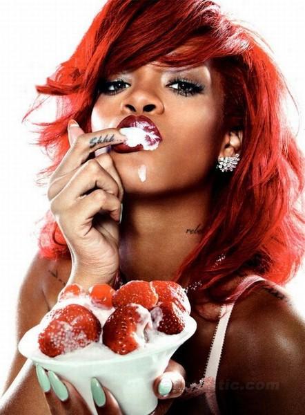 Певица Rihanna для журнала GQ (11 фото)