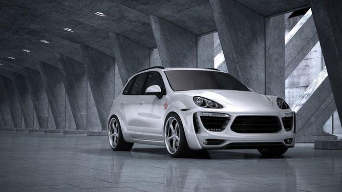 Московское ателье Met-R прокачало Porsche Cayenne (7 фото)