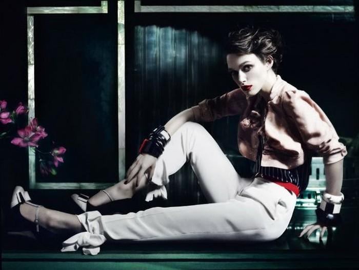 Кира Найтли для Vogue (7 фото)