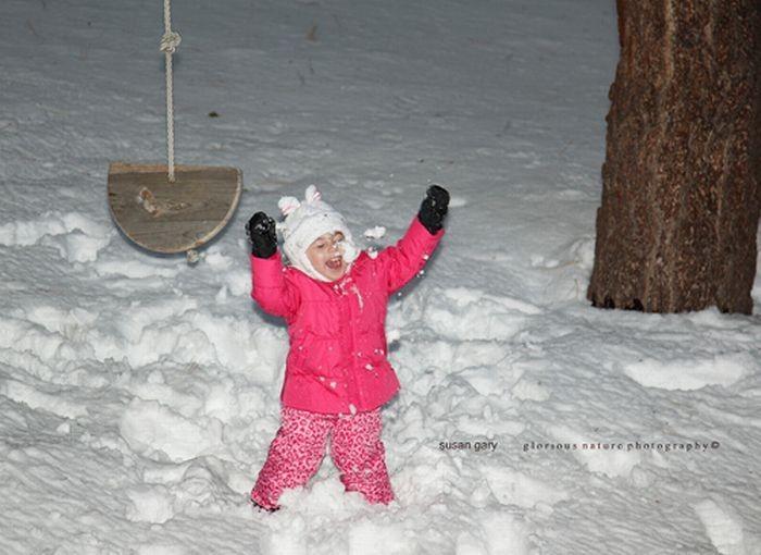 Играем в снежки! (33 фото)