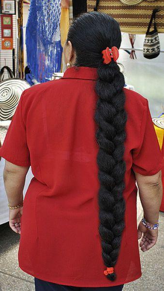 Девушки с длинными волосами (91 фото)