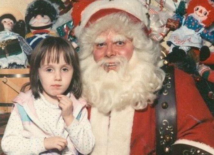 Страшноватые Дедушки Морозы (20 фото)