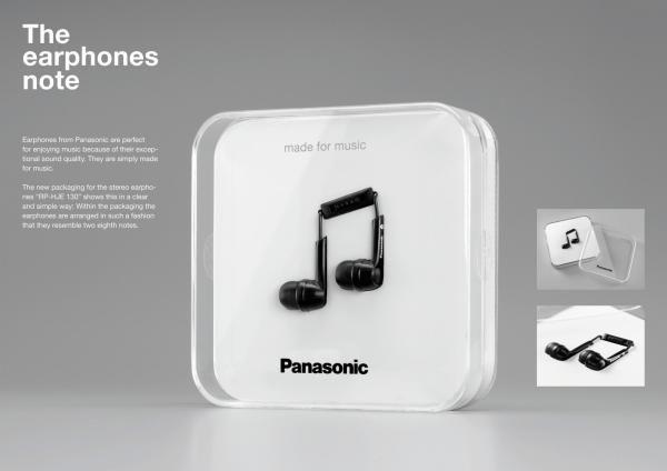 THE EARPHONES NOTE, Panasonic, Scholz And Friends Berlin, Panasonic Corporation, Печатная реклама