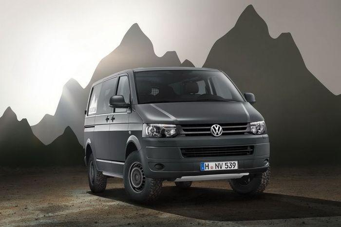Volkswagen Transporter Rockton 4MOTION (18 фото)