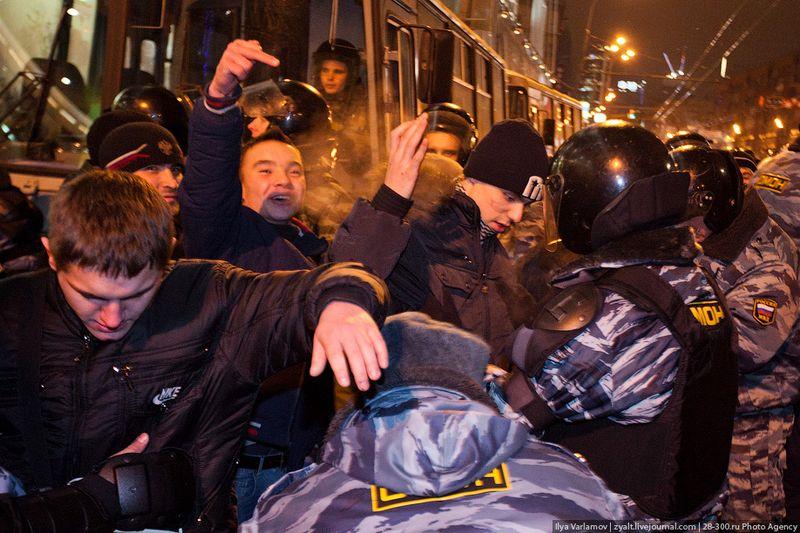С Манежки на Киевский вокзал (48 фото + видео)