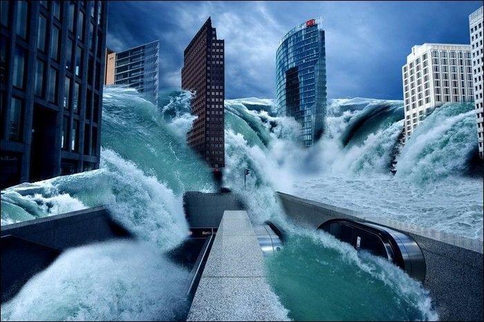 Как мог бы выглядеть потоп 2012 года (33 фото)