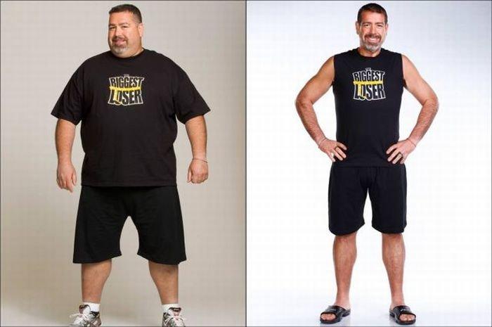 """Участники """"The Biggest Loser"""" до и после шоу. Часть 2. (17 фото)"""