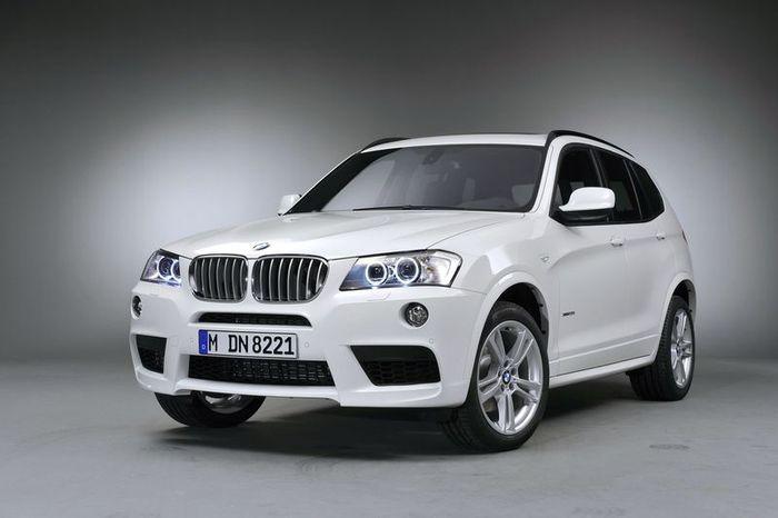 BMW X3 получит М-спортпакет (10 фото)