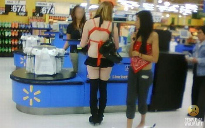 Интересные люди в супермаркетах. Часть 5. (73 фото)