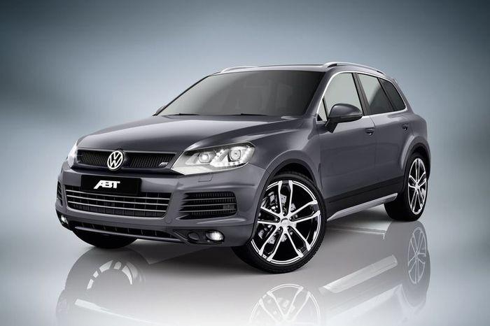 ABT Sportsline подготовили спорт пакет для VW Touareg (3 фото)