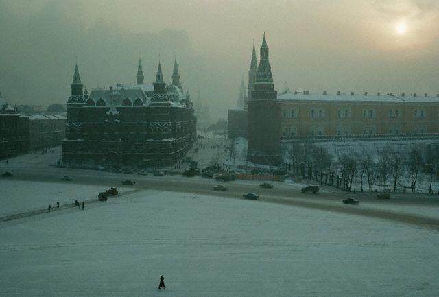 Вид на Красную площадь, 1967