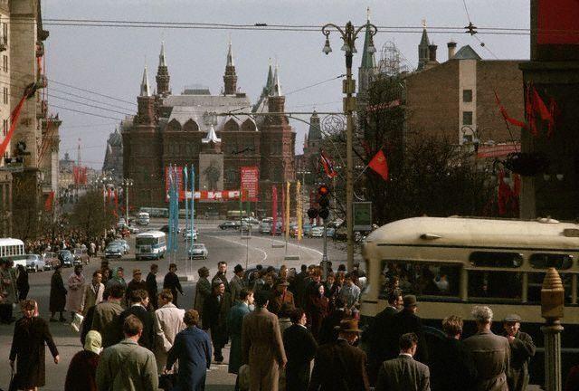 Улица Горького в Москве, 1966