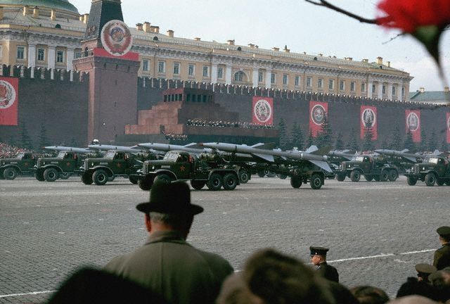 Военный парад на Красной площади, 1966