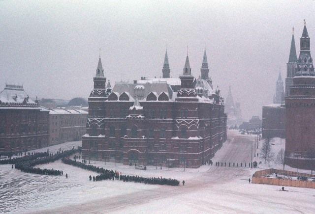 Похороны С.П.Королева, 1966