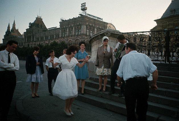 Выпускники на Красной площади, 1964