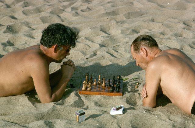 Шахматисты. Москва, 1964